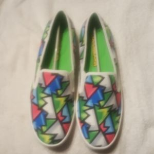 loudmouth loafers sonny crystal pattern